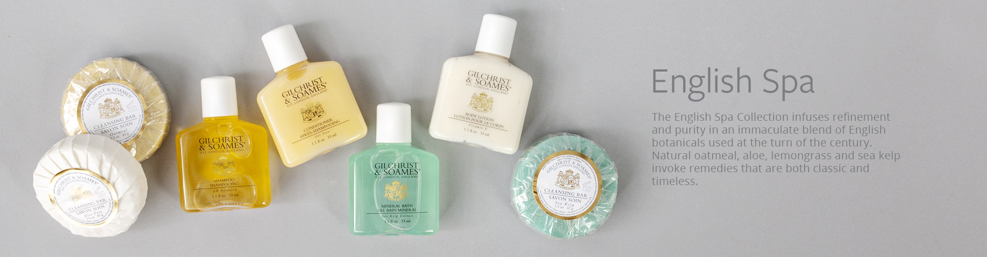 Gilchrist & Soames English Spa