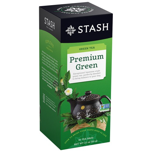 STASH Premium Green Tea, box of 30 | Simply Supplies