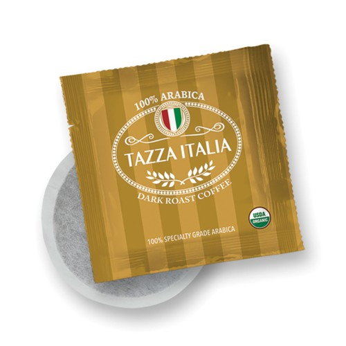 Tazza Italia Dark Roast Organic Regular Coffee, set of 10 | Simply Supplies