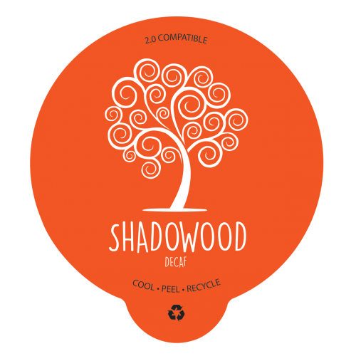 Shadowood Coffee, Single-Serve Capsue, Decaf (case of 100)
