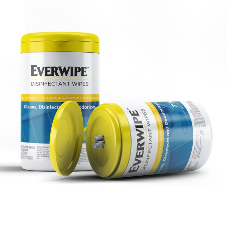 Everwipe Disinfectant Wipes (case of 6)