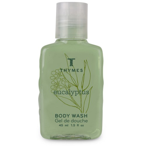 1.5oz/45ml Thymes Eucalyptus Shower Gel