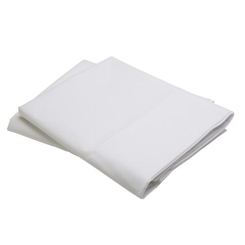 Connoisseur Sateen Pillow Case Set, King   Simply Supplies