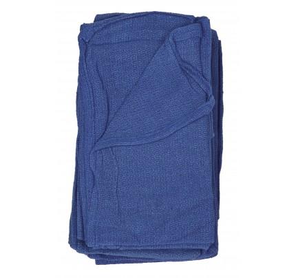 Huck Towel, Blue (case of 200)