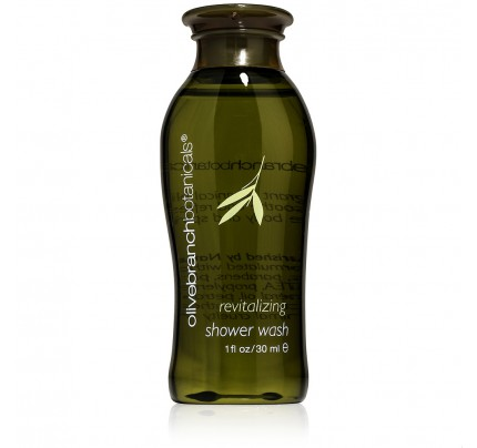 1oz/30ml Olive Branch Botanicals Revitalizing Shower Wash
