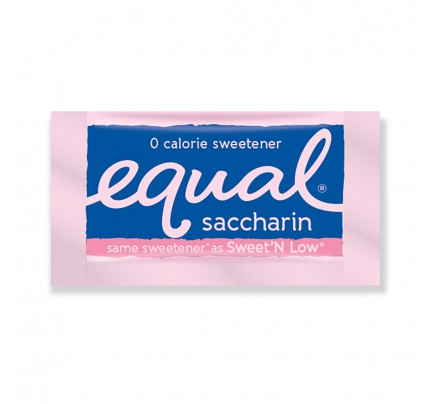 Equal® Saccharin Sweetener Packets, box of 2000 | Simply Supplies