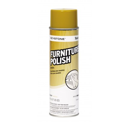 Keystone Furniture Polish Aerosol, 17oz (case of 6)