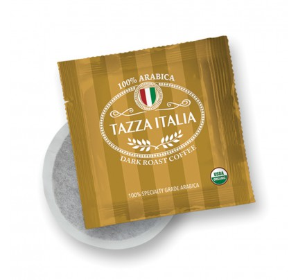 Tazza Italia Dark Roast Organic Regular Coffee, set of 10 | Simply Supplies