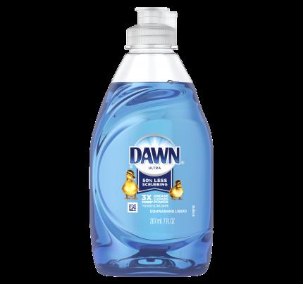 Dawn Ultra Dishwashing Liquid Dish Soap, 7oz, Blue (case of 18)