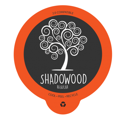 Shadowood Coffee, Single-Serve Capsule, Regular (case of 100)