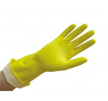 Ambitex Pro® Flocklined Gloves Powder Free, Yellow, Medium (case of 12)