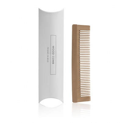 Brown Wood Comb - Box