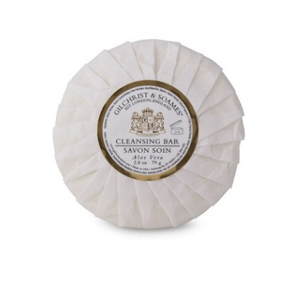 2.8oz/80g English Spa Round Aloe – Tissue Pleat Wrap