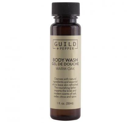 1oz/30ml Guild+Pepper Shower Gel