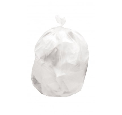 High Density Can Liner, Clear (case of 500)