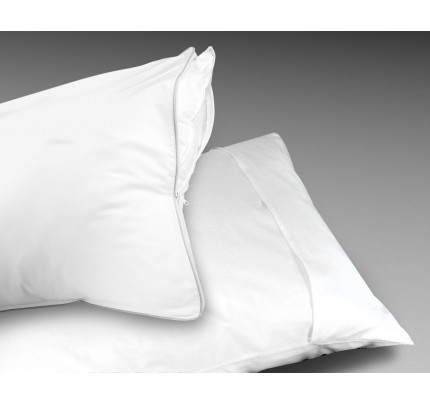 Centex Jumbo/Queen Pillow Protector with Zipper Closure (case of 72)