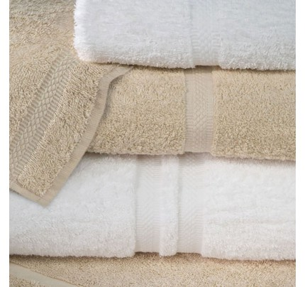 Grand Royal Bath Towel, Cotton Double Dobby Border (case of 48)