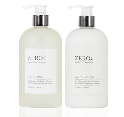 Zero Percent Hand Care Set, 15.5oz