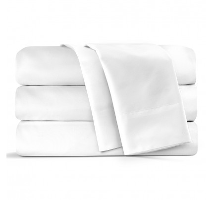Prima Microfiber  Twin Flat Sheet (case of 24)